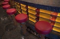 La chaise sur le salon d'un bateau de croisière image libre de droits