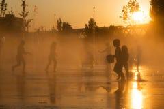 La chaleur d'été Images stock