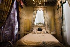 La chambre à coucher photos stock