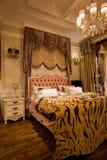 La chambre à coucher photographie stock