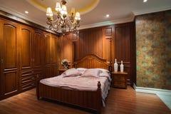 La chambre à coucher image libre de droits