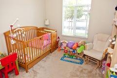 La chambre à coucher de l'enfant Photo libre de droits