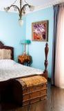La chambre à coucher de la grand-maman Photographie stock libre de droits