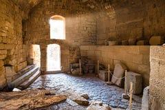 La chambre de château photo stock