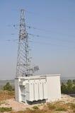 La chambre de fusible et la tour de transmission Photos libres de droits