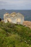 La Chambre de garde de phare Photo stock