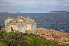 La Chambre de garde de phare Image libre de droits