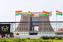 La Chambre de hampe de drapeaux - palais présidentiel du Ghana Photo libre de droits
