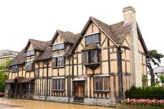 La Chambre de William Shakespeare Images libres de droits