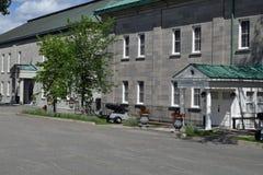 La Chambre du général du Gouverneur, La Citadelle, Québec Image stock