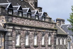 La Chambre du Gouverneur dans le château d'Edimbourg, Ecosse Photographie stock