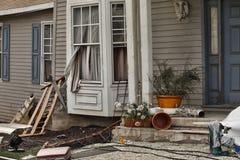 La Chambre a endommagé par désastre Photographie stock libre de droits