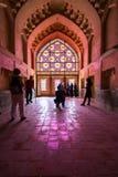 La chambre forte d'Arg-e le Karim Khan, Chiraz, Iran images libres de droits