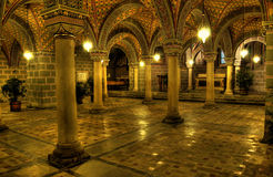 La chambre forte de cathédrale Photographie stock libre de droits