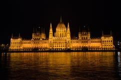 La Chambre hongroise du Parlement Image stock