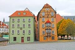 La Chambre médiévale a appelé Spalicek Place du marché dans Cheb, Tchèque Republick Image libre de droits