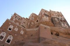 La Chambre Yeman de roche Image stock