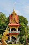La chapelle à deux étages sur le site Wat Wichit Sangkaram Image stock