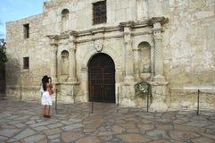 La chapelle d'Alamo Images stock