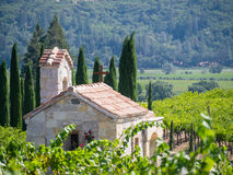 La chapelle dans Napa Valley Photo stock