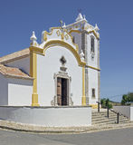 La chapelle de Budens au Portugal du sud Photo stock