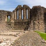 La chapelle de château de Kildrummy ruine l'Ecosse britannique Images stock