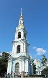 La chapelle de la cathédrale marine de Nikolsky, St Petersburg, Russie Images stock