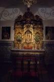 La chapelle des combattants de taureau chez Séville, Espagne, l'Europe Images stock