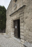 La chapelle des pénitents blancs, Les Baux-De-Provence, France Photographie stock