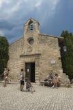 La chapelle des pénitents blancs, Les Baux-De-Provence, France Images libres de droits