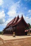La chapelle a fait le ‹d'†de ‹d'†du palmier à sucre en bois Images libres de droits