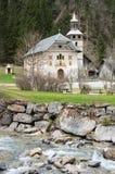 La chapelle Notre Dame de la Gorge photos stock