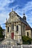La Chapelle Sainte-Marie - Nevers - Frankreich lizenzfreies stockbild