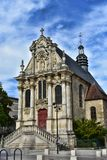 La Chapelle Sainte-Marie - Nevers - Frankrike royaltyfri bild
