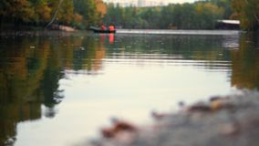 La charca del otoño almacen de metraje de vídeo