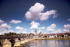 La charite sur Loire Stock Photos