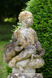 La Chatonniere do jardim e do castelo perto de Villandry Imagem de Stock Royalty Free