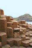La chaussée du géant, Irlande du Nord Image stock