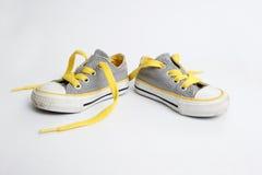 La chaussure de l'enfant Images libres de droits