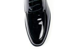 La chaussure en cuir des hommes Photographie stock libre de droits