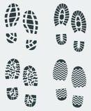 La chaussure estampe le vecteur 2 Photos libres de droits