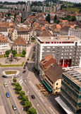 La Chaux de Afeiçoado, Suíça Imagens de Stock