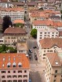 la Chaux de Fond,瑞士 免版税库存图片