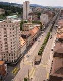 La Chaux de Fond, Svizzera Fotografie Stock Libere da Diritti