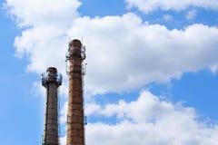 La cheminée industrielle Image stock