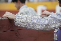 La chemise de la jupe d'un toréador. Photographie stock
