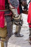 La chiamata in attesa dei cavalieri per combattere giorno immagini stock