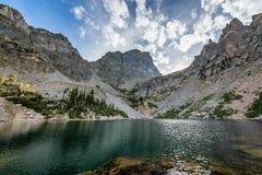 La chiamata di Rocky Mountain National Park immagine stock