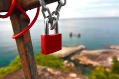 la chiave di amore in samui Tailandia del KOH Fotografie Stock