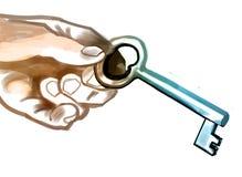La chiave a migliaia di porte Fotografie Stock